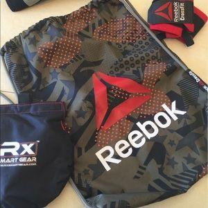Reebok CrossFit Drawstring Gym Bag